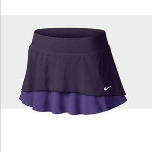 Nike Jupe Tennis Skort Purple Ruffle Large